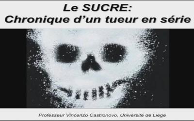 """Conférence Pr CASTRONOVO """"le sucre chronique d'un tueur en serie"""""""