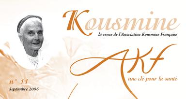 Revue AKF n°11 (Septembre 2006)