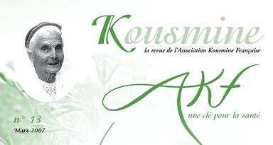 Revue AKF n°13 (Mars 2007)