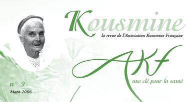 Revue AKF n°9 (Mars 2006)