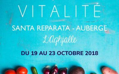 Séjour vitalité en Corse du 19 au 23 octobre 2018