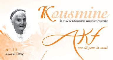 Reveu AKF n°15 (Septembre 2007)