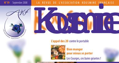 Revue AKF n°19 (Septembre 2008)
