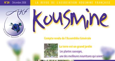 Revue AKF n°20 (Décembre 2008)