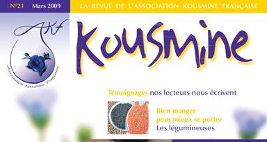 Revue AKF n°21 (Mars 2009)