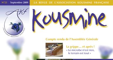 Revue AKF n°23 (Septembre 2009)