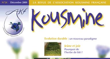 Revue AKF n°24 (Décembre 2009)