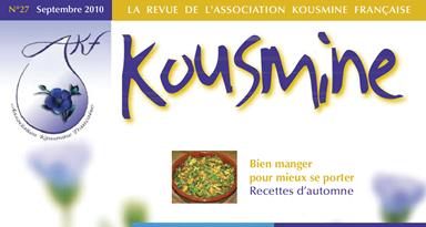 Revue AKF n°27 (Septembre 2010)