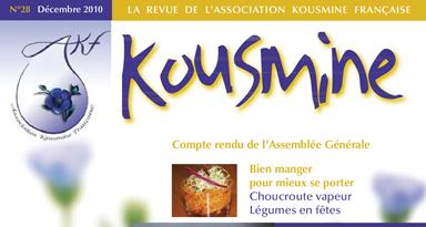 Revue AKF n°28 (Décembre 2010)
