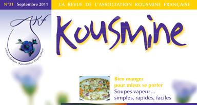 Revue AKF n°31 (Septembre 2011)