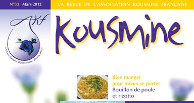 Revue AKF n°33 (Mars 2012)