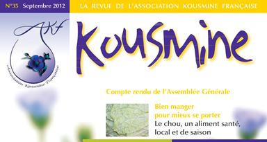 Revue AKF n°35 (Septembre 2012)
