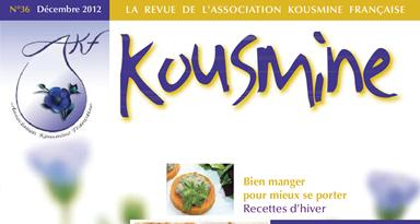 Revue AKF n°36 (Décembre 2012)