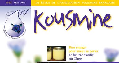 Revue AKF n°37 (Mars 2013)