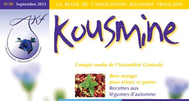 Revue AKF n°39 (Septembre 2013)