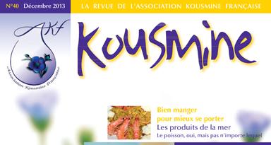Revue AKF n°40 (Décembre 2013)