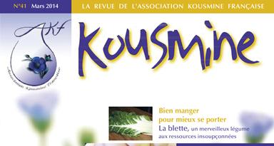 Revue AKF n°41 (Mars 2014)