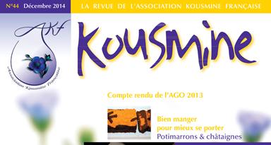 Reveu AKF n°44 (Décembre 2014)