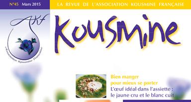 Revue AKF n°45 (Mars 2015)