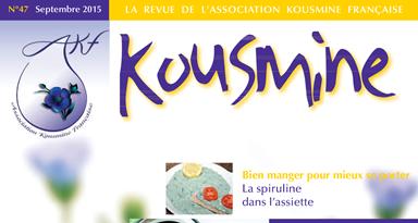 Revue AKF n°47 (Septembre 2015)